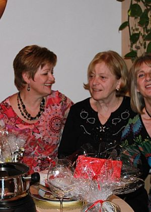 Barbara, Dragana, Christl und Edith